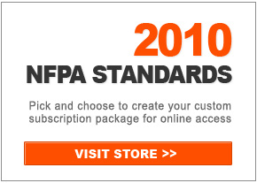 Pick and choose from 2010 edition NFPA standards to create your custom subscription package for online access.